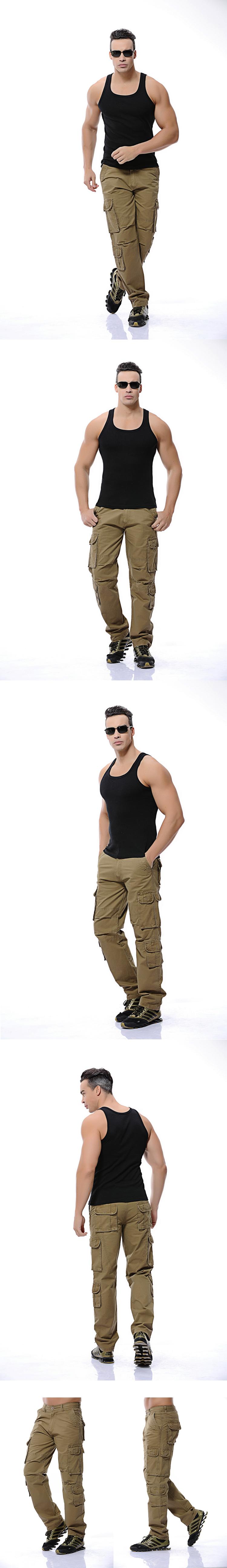 TB2KvmQmpXXXXbNXXXXXXXXXXXX !!325452514 Fashion Military Cargo Pants Men Loose Baggy Tactical Trousers Oustdoor Casual Cotton Cargo Pants Men Multi Pockets Big size