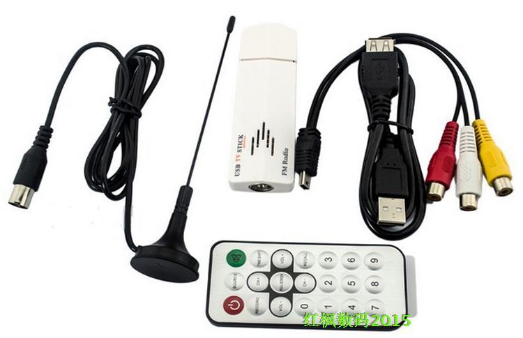 電腦筆記本當電視用有線/閉路電視卡 老錄影帶格式轉換器採集卡