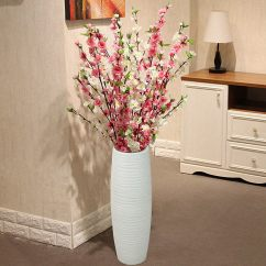 Living Room Floor Vases House Plans With Large Rooms Usd 5 38 Peach Blossom Vase Modern Minimalist Decoration Ornaments High Grade Silk Flowers