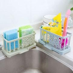 Kitchen Supplies Online Cabinet Manufacturers List Usd 4 94 Home Plastic Drain Rack Table Clean Cloth Sponge Storage
