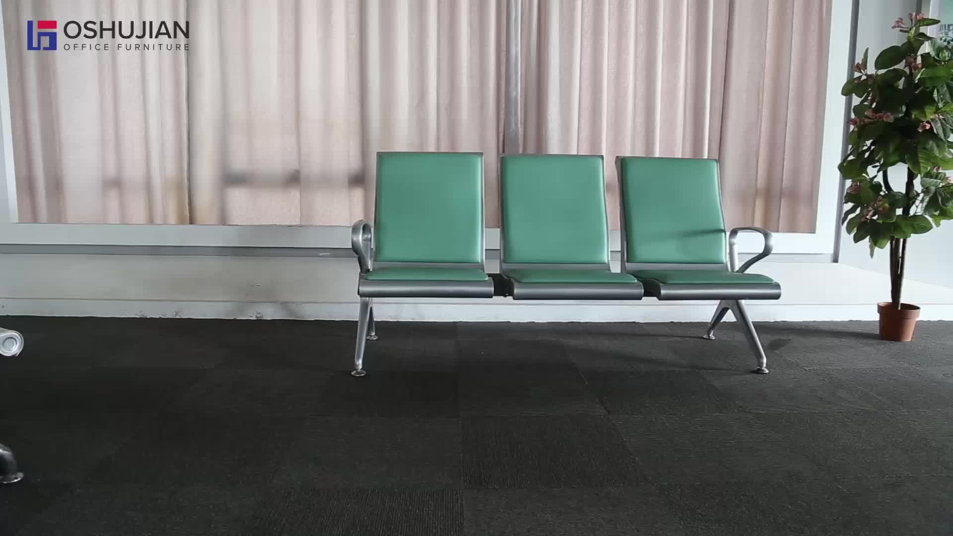 Waiting Room Chairs Cheap Wholesale Metal Steel 3 Seater Cheap Waiting Room Chairs