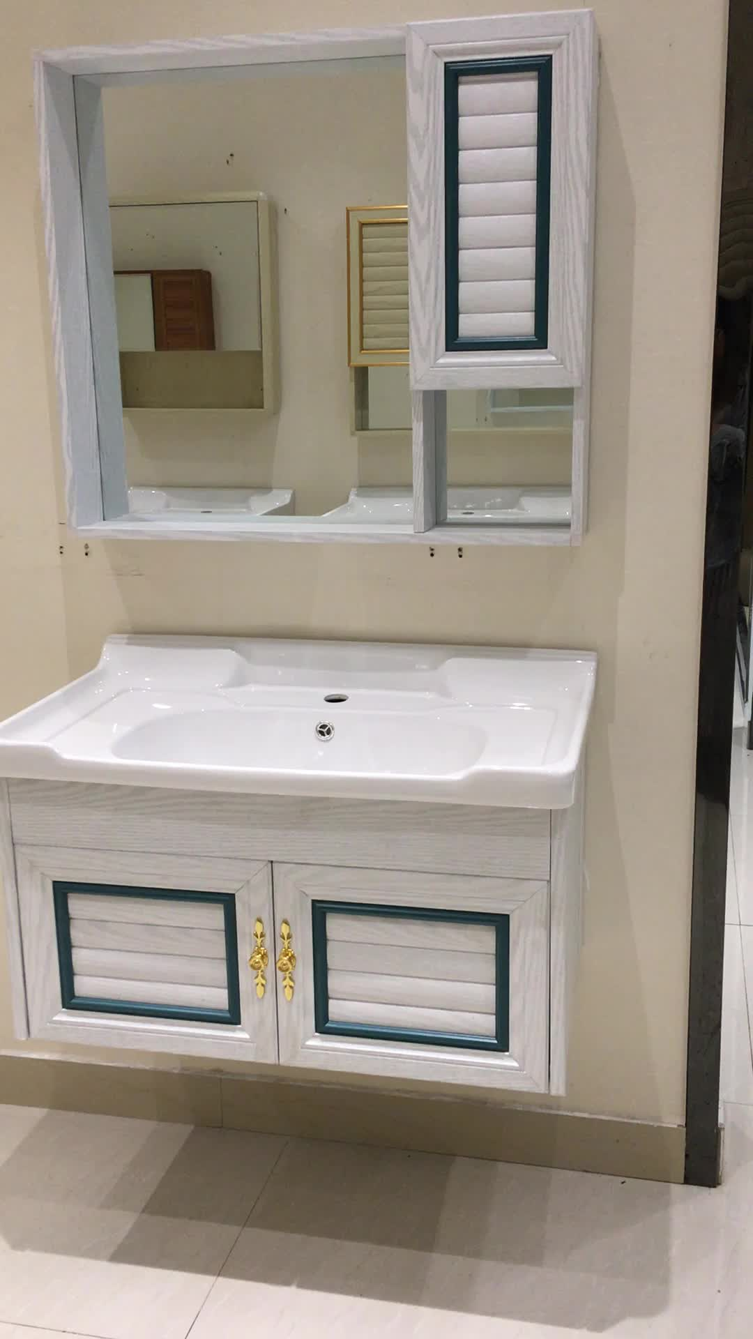 2018 Cheap Bathroom Storage Units Vanity Cabinets With
