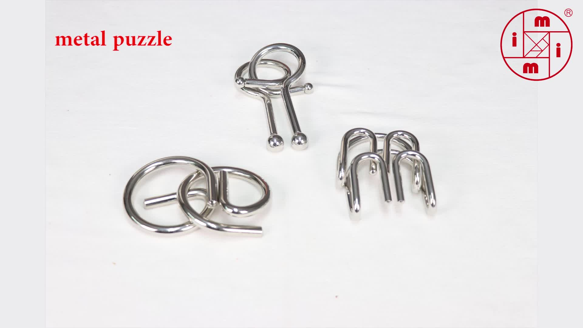 Metal Puzzle Ring Iron Wire Puzzle