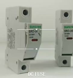 suntree srd 30 series 10x38mm fuse holder for solar pv system 12v solar fuse box solar fuse box [ 1920 x 1080 Pixel ]