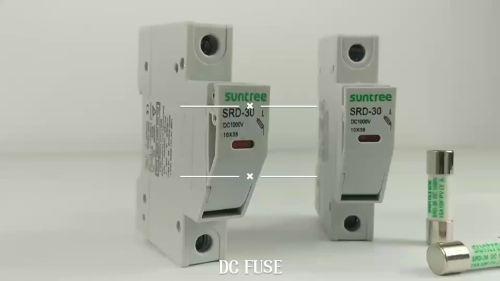 small resolution of suntree srd 30 series 10x38mm fuse holder for solar pv system 12v solar fuse box solar fuse box