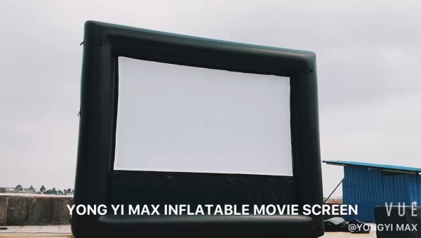 7 Ft Inflatable Movie Screen Outdoor Projection