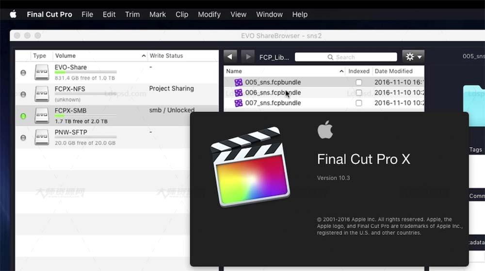 Apple Final Cut Pro X / FCPX v10.4.8 簡體中文版/英文版/多語言 破解版,電子技術,浪漫英文花體-發現字體-求字體網