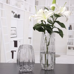 Living Room Flower Vases Sectionals For Small Rooms Usd 22 31 Modern Simple Glass Vase Transparent Large Water Rich Bamboo Decoration