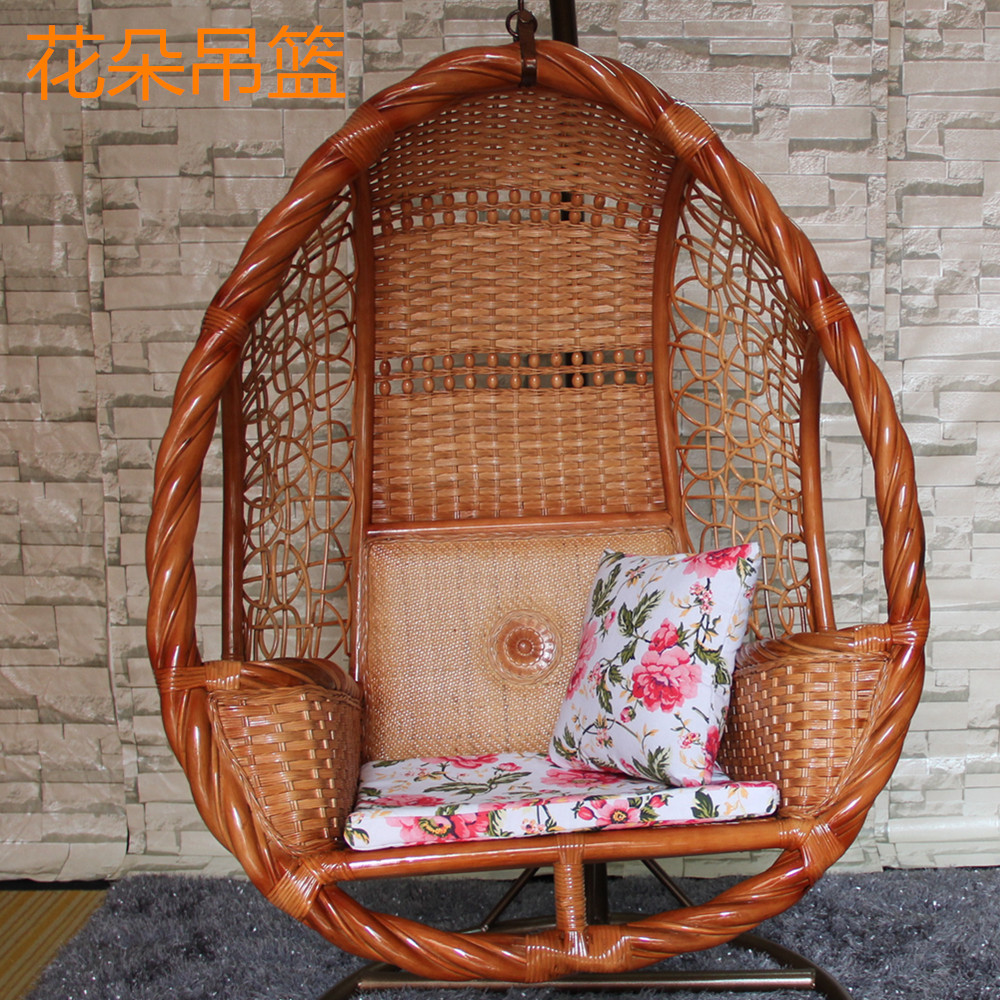 Bird Nest Chair Natural True Rattan Hanging Chair Balcony Bird S Nest Hanging