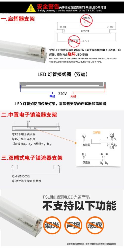 small resolution of  fsl foshan lighting led lamp t8 t5 integrated lamp fluorescent tube energy saving light