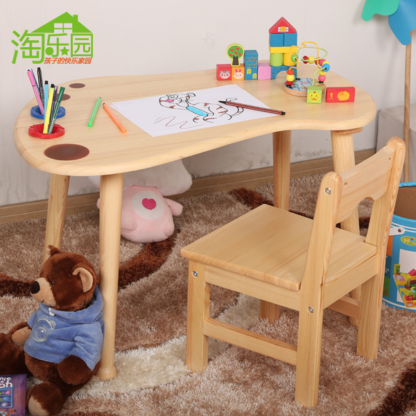 childrens table and chairs 2 usd 50 02 solid wood kindergarten tables children s chair set game baby study