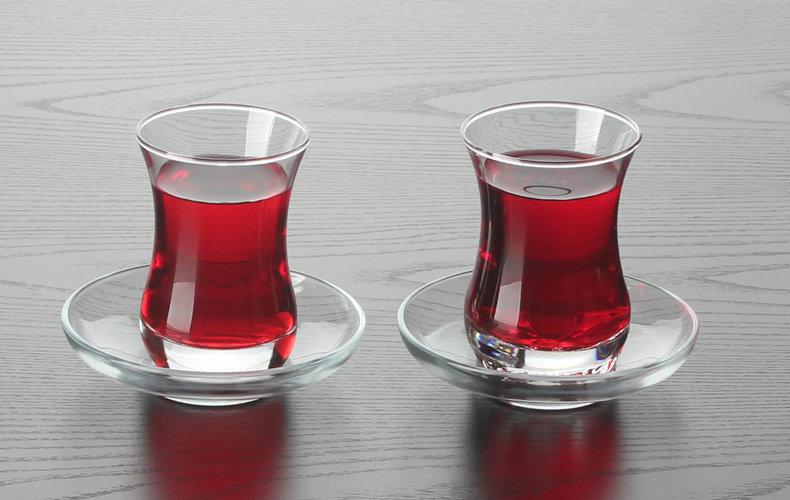 土耳其紅茶杯鬱金香紅茶杯組咖啡杯茶具熱飲杯帕莎花茶杯紅茶杯