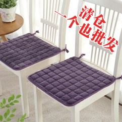 Wholesale Chair Cushions Dining Room Chairs Covers Sale Usd 6 78 Winter Plush Thin Section Warm Cushion Table And Mat Non