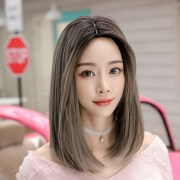 wig female net red shoulder short