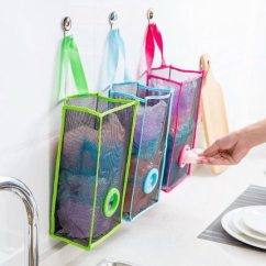 Kitchen Bags Upgrading Countertops 透明吊挂式垃圾袋收纳袋厨房购物塑料袋收纳盒家用壁挂多功能 Tmall Com天猫 透明吊挂式垃圾袋收纳袋厨房购物塑料袋收纳盒家用壁挂