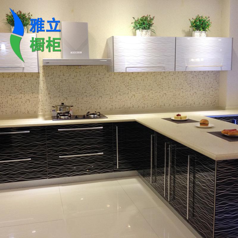 acrylic kitchen cabinets island modern 雅立厨柜亚克力门板a0068 雅立橱柜整体厨房 太平洋家居网产品库 雅立厨柜品牌亚克力门板20 50