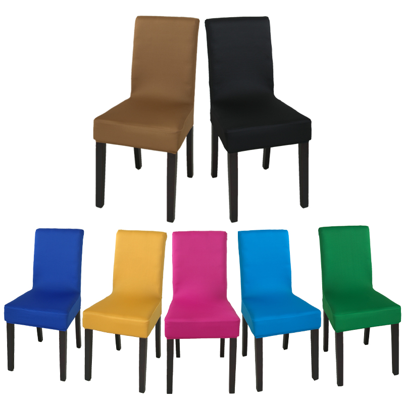 stretch chair covers lane parts usd 6 00 hotel cover seat piece fabric back western restaurant