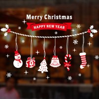 Christmas decorations Wall Stickers scenes decorate ...