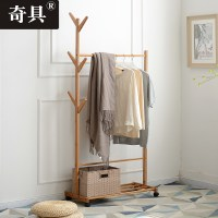 [USD 40.18] Odd coat rack floor bedroom hanger simple ...