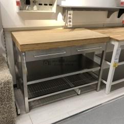 Kitchen Island Table Ikea Ninja Mega 厨房淘宝价格比价 840笔 价格高到低排序 爱逛街台湾代购 宜家ikea 雷弗萨工作台厨房岛收纳架厨房置物整理工作台