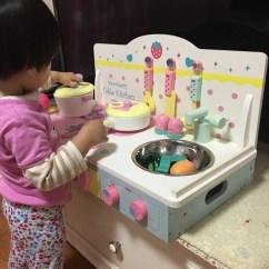 Wood Kitchen Playsets Curtains 木制厨房玩具淘宝价格比价 1398笔 爱逛街台湾代购 木制厨房玩具模拟过家家做饭煤气灶台3 4