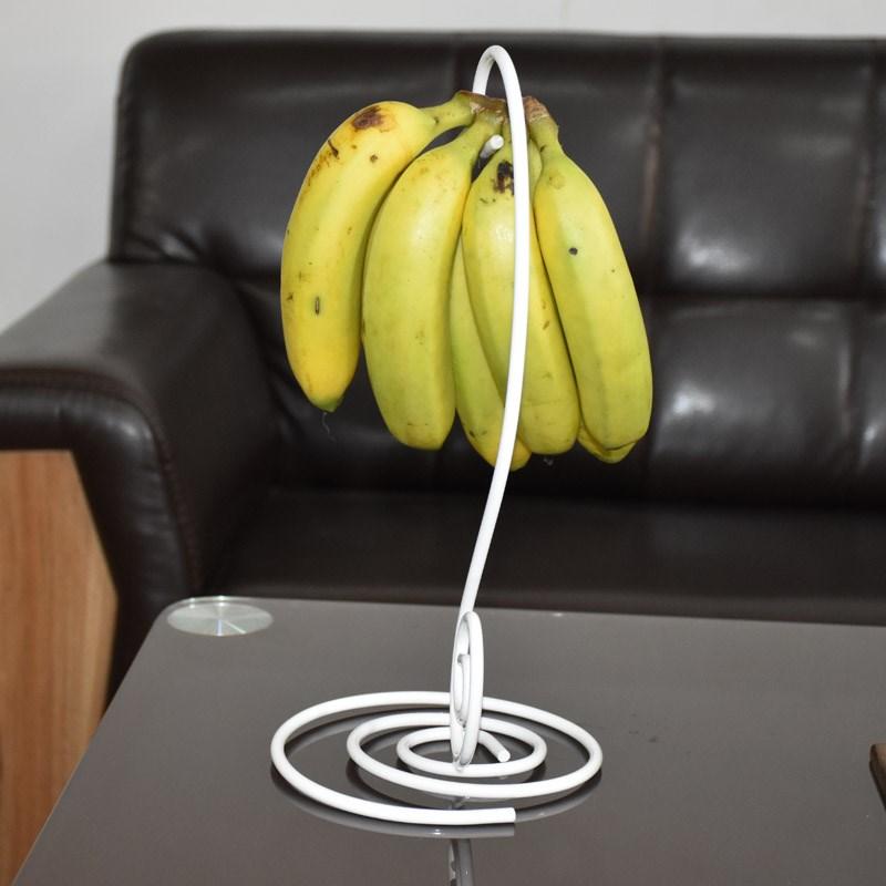 kitchen fruit basket metal table sets 香蕉挂钩客厅厨房水果篮小饰品挂架手机吊饰架收纳架礼品装饰架 淘宝网