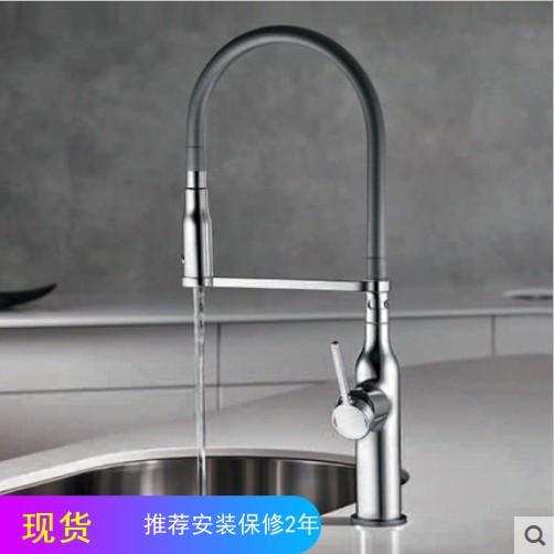 kwc kitchen faucet supplies 瑞士kwc凯唯厨房龙头sin高抛弹簧软管可旋转龙头10 261 432 000fl kwc厨房龙头