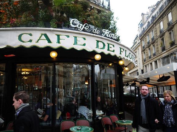 【巴黎】百年咖啡館.雙叟Les Deux Magots.花神咖啡館Café de Flore