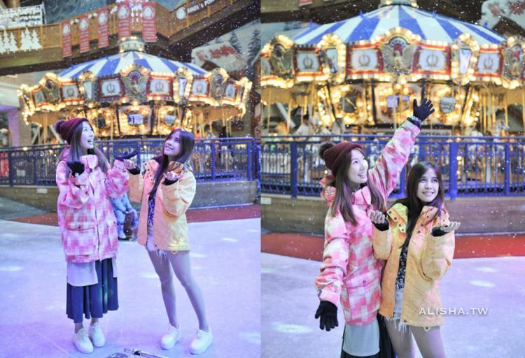 京畿道。高陽 Onemount 冰雪樂園 適合約會.家庭出遊的好地方 雨備方案就選它