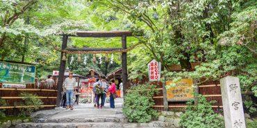 京都嵐山|野宮神社。竹林小徑 來一趟身心洗滌之旅