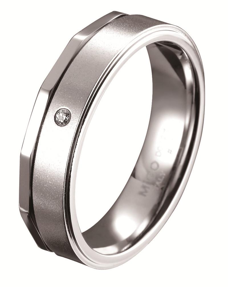 愛的時光 白鋼鑽石戒指(男戒)_戒指_時尚首飾_詮美珠寶-網上商店