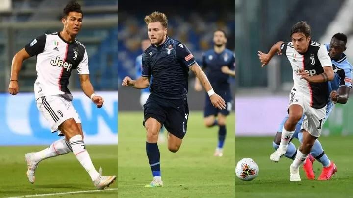 Ronaldo & Immobile lead Opta's Serie A Team of the Season as 4 Juve stars in 2