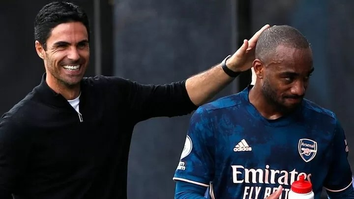 Arteta: Aubameyang's contract signed 'very soon', Lacazette 'happy' at Arsenal 3