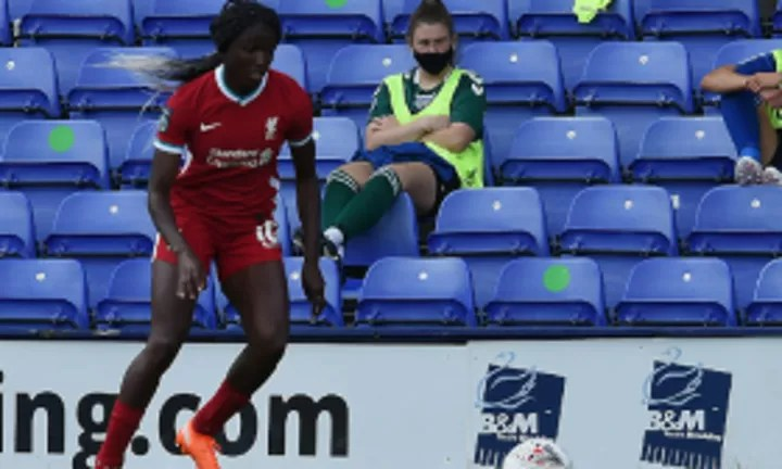 Nigeria-Eligible Striker Babajide Celebrates England Call-up With First Goal For Liverpool 2020-21 Season 2