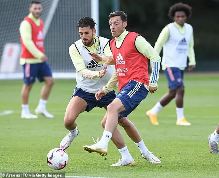 Ozil is yesterday's news': Campbell says Ozil will NEVER play for Arsenal again 3