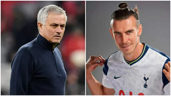 Mourinho reveals the first thing he asked Bale at Tottenham
