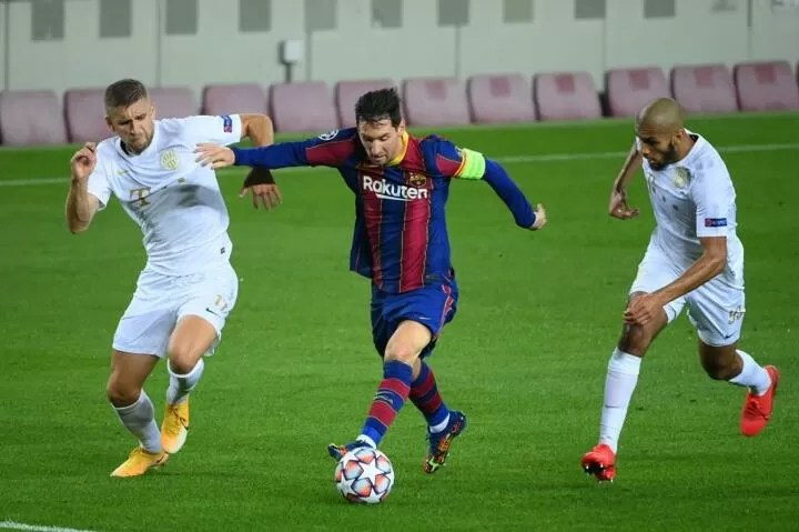 Messi is hungry after 900 days without scoring against Real Madrid 3