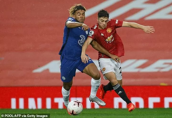 Daniel James has vowed to fight for a starting shirt at Man United 2
