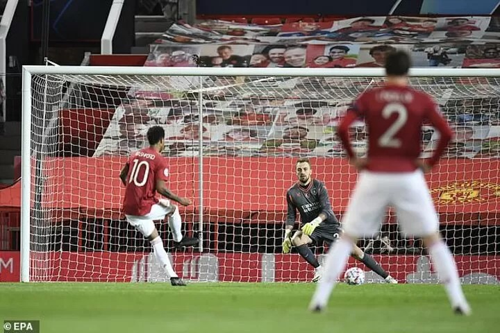 Marcus was always going to take the next penalty - Bruno Fernandes 2