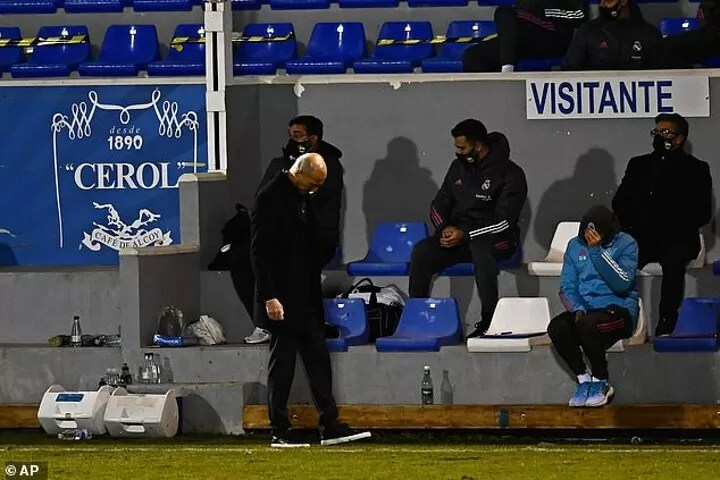 Zidane admits the pressure is back on after Madrid's shock Copa del Rey knockout 2