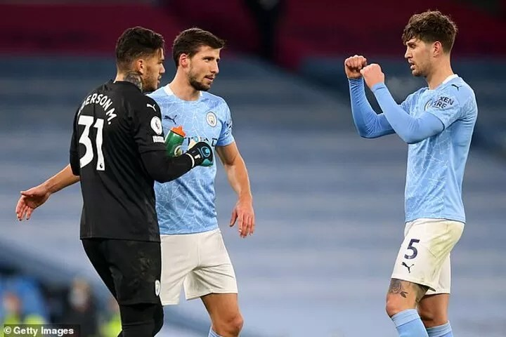 Ruben Dias is Manchester City's new rock at the back 4
