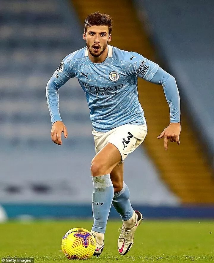 Ruben Dias is Manchester City's new rock at the back 3