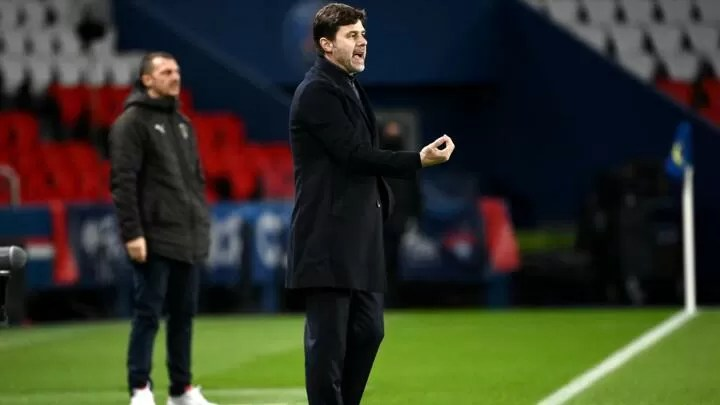 """PSG will work """"in silence"""" after Barça riled by Messi talk - Pochettino 2"""