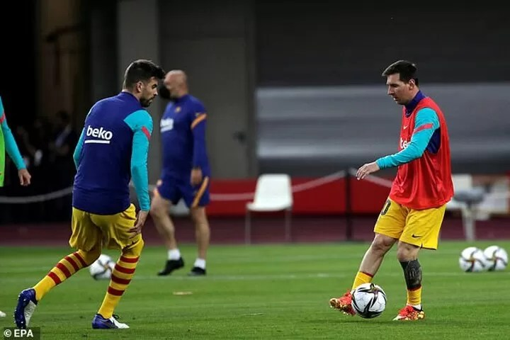 Barcelona president Laporta 'working on new 3-year deal for Lionel Messi' 6