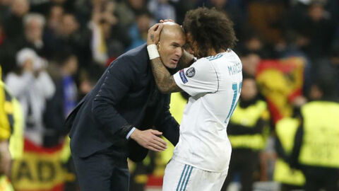 Marcelo and Zidane reunite at Juventus