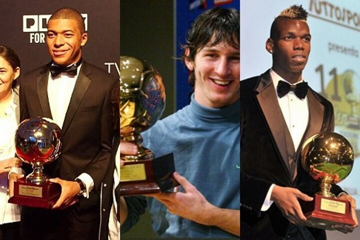 Messi, Pogba, Mbappe... What have happened to the previous European Golden  Boys?| All Football
