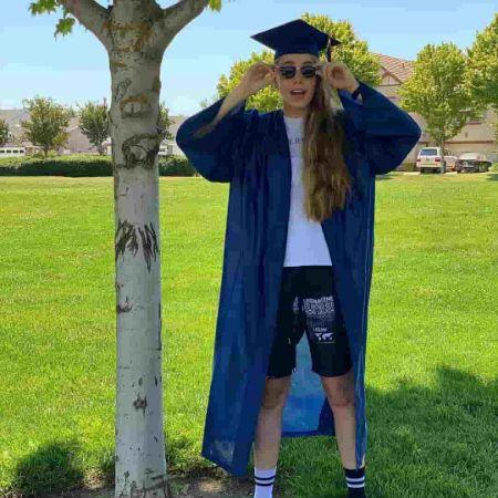 Isabella Avila on graduation