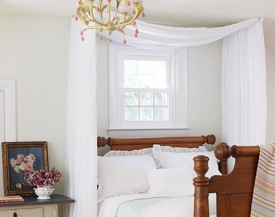 Curtain Rods 13 Gorgeous DIY Canopy Beds → 🔧 DIY
