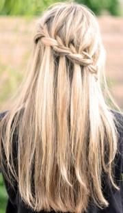 waterfall braid - 13 fun braided
