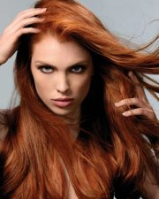 cinnamon red - 11 winter hair color